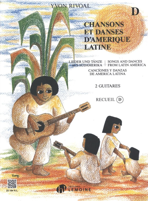 Yvon Rivoal - Songs and Dances of Latin America - Collection D - Partition - di-arezzo.com