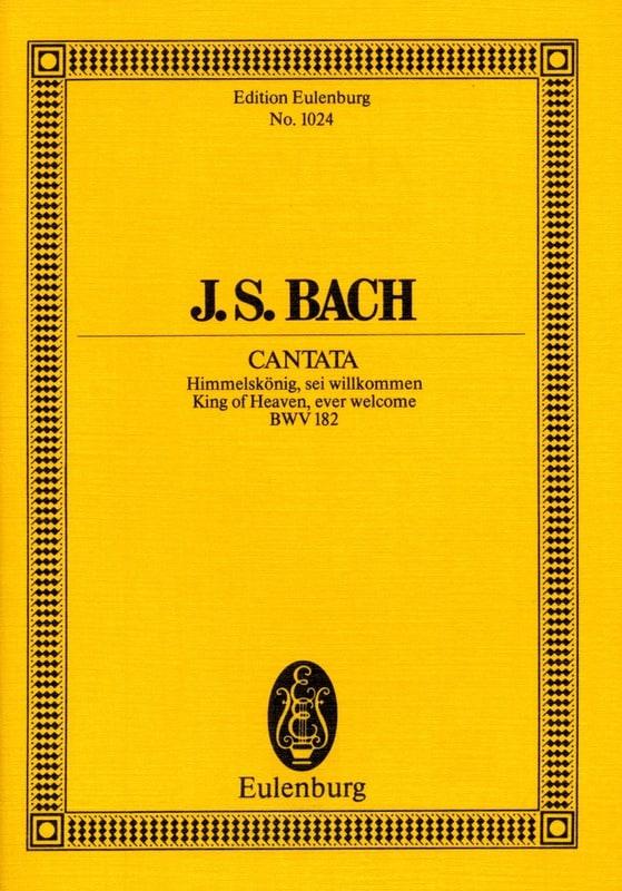 Cantata Himmelskönig, Sei Willkommen Bwv 182 - laflutedepan.com