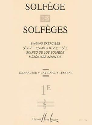 Lavignac - Solfeggio of Solfeggio Volume 1e - Without Accompaniment - Partition - di-arezzo.co.uk