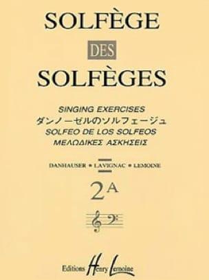 Lavignac - Volume 2A - A / A - Solfeggio Music School - Partition - di-arezzo.co.uk