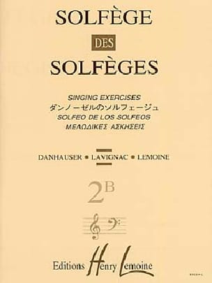 Lavignac - Volume 2B - S / A - Solfeggio Music School - Partition - di-arezzo.co.uk
