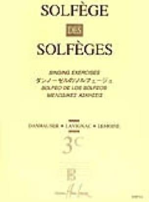 Lavignac - Volume 3C - S / A - Solfeggio Music School - Partition - di-arezzo.co.uk