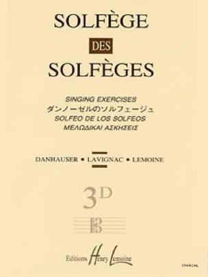 Lavignac - Volumen 3D - S / A - Solfeo del Solfeo - Partition - di-arezzo.es
