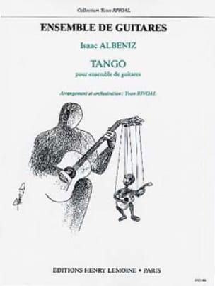 Tango - 5 Guitares - ALBENIZ - Partition - Guitare - laflutedepan.com