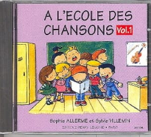 Allerme Sophie / Villemin Sylvie - CD - School of Songs Volume 1 - Partition - di-arezzo.co.uk