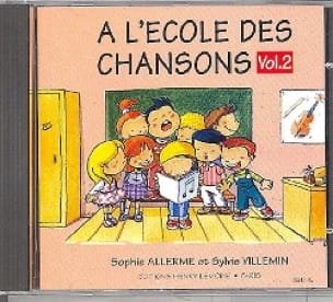 Allerme Sophie / Villemin Sylvie - CD - School of Songs Volume 2 - Partition - di-arezzo.com