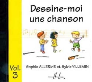Allerme Sophie / Villemin Sylvie - CD / Draw Me A Song Volume 3 - Partition - di-arezzo.co.uk