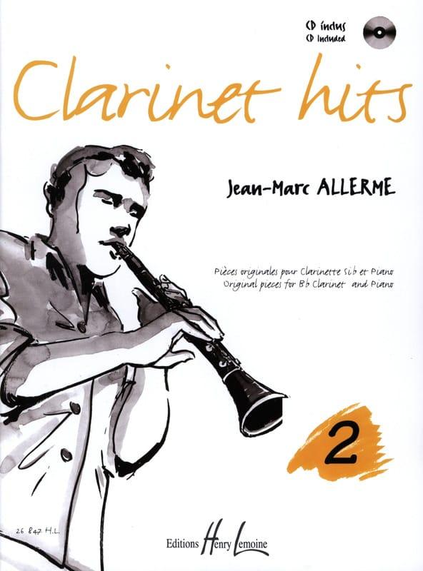 Jean-Marc Allerme - Clarinet Hits Volume 2 - Book - Partition - di-arezzo.com