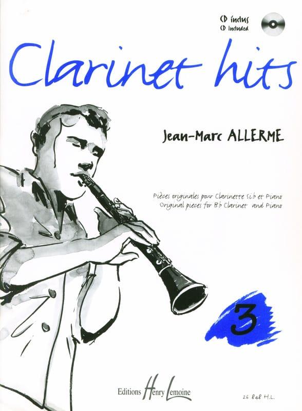 Jean-Marc Allerme - Clarinet Hits Volume 3 - Book - Partition - di-arezzo.com