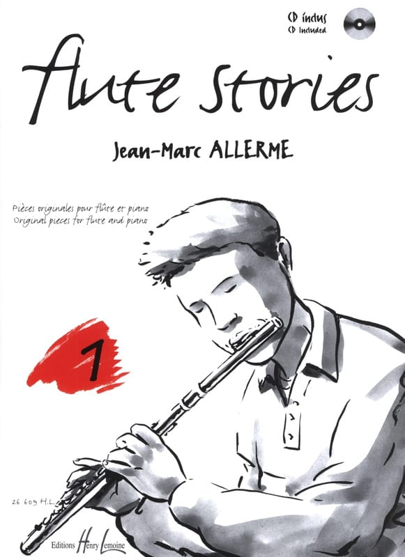 Jean-Marc Allerme - Flute Stories Volume 1 - Partition - di-arezzo.co.uk