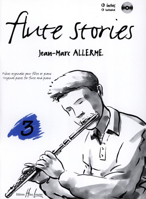 Jean-Marc Allerme - Flute Stories Volume 3 - Partition - di-arezzo.co.uk