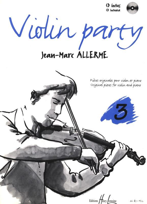 Jean-Marc Allerme - Fiesta de Violín Volumen 3 - Partition - di-arezzo.es