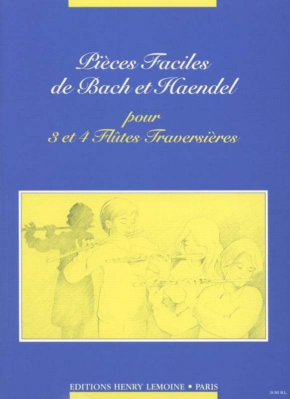 Pièces faciles - 3 et 4 Flûtes - HAENDEL - laflutedepan.com