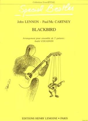 Beatles - Blackbird - 5 Guitars - Partition - di-arezzo.com