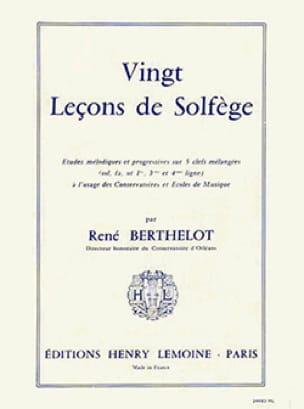 René Berthelot - 20 Lessons 5 Keys - without acc. - Partition - di-arezzo.com