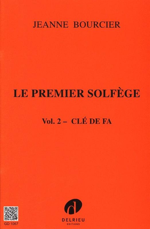 Le premier solfège - Volume 2 : Clé de Fa - laflutedepan.com