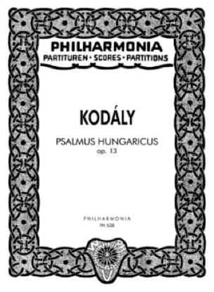 Psalmus Hungaricus op. 13 - Partitur - KODALY - laflutedepan.com