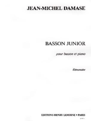 Basson Junior - Jean-Michel Damase - Partition - laflutedepan.com
