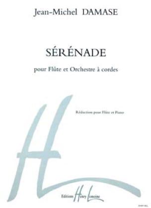 Jean-Michel Damase - Sérénade -Flûte piano - Partition - di-arezzo.fr