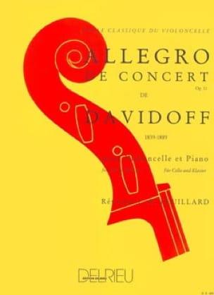 Allegro de Concert op. 11 - Charles Davidoff - laflutedepan.com