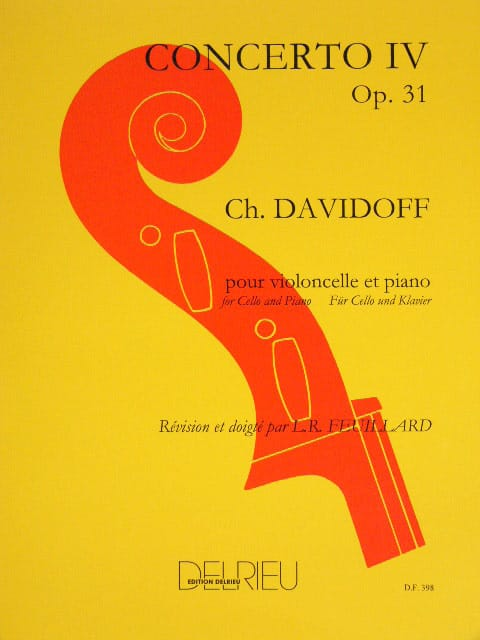Charles Davidoff - Concerto No. 4 in E Minor Op. 31 - Partition - di-arezzo.co.uk