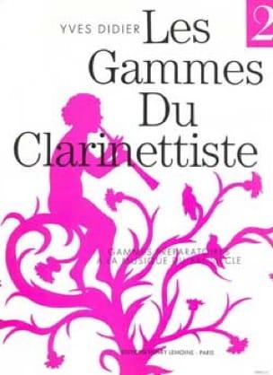 Yves Didier - Serie del Clarinetista Volumen 2 - Partition - di-arezzo.es