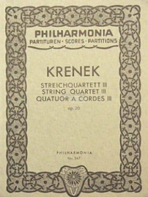 Streichquartett Nr. 3 op. 20 - Partitur - laflutedepan.com