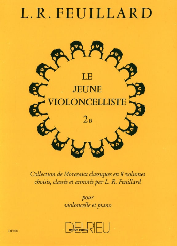 Le Jeune Violoncelliste Vol.2 B - FEUILLARD - laflutedepan.com