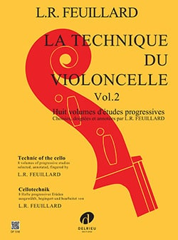 FEUILLARD - Cello Technique Volume 2 - Partition - di-arezzo.com
