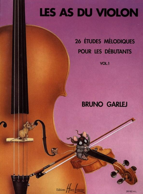 Bruno Garlej - The Aces of the Violin Volume 1 - Partition - di-arezzo.co.uk