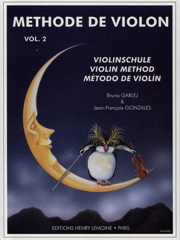 GARLEJ - GONZALES - Violin Method - Volume 2 - Partition - di-arezzo.co.uk