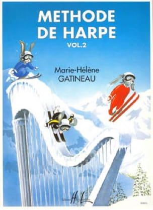 Marie-Hélène Gatineau - Harp Method - Volume 2 - Partition - di-arezzo.co.uk