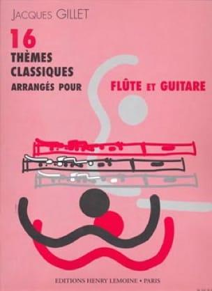 16 Thèmes classiques - Flûte guitare - laflutedepan.com