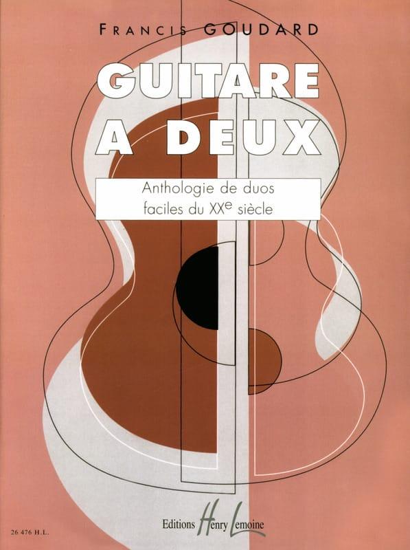 Guitare à deux - Partition - Guitare - laflutedepan.com