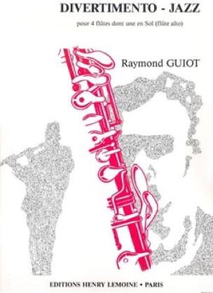 Divertimento-Jazz - 4 Flûtes - Raymond Guiot - laflutedepan.com