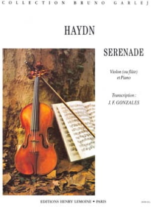 HAYDN - Serenade - Violin or Flute - Partition - di-arezzo.co.uk
