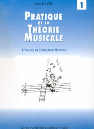 Yves Klein - Practice of Music Theory Volume 1 - Partition - di-arezzo.co.uk