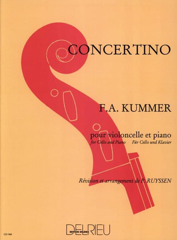 Concertino - Friedrich-August Kummer - Partition - laflutedepan.com