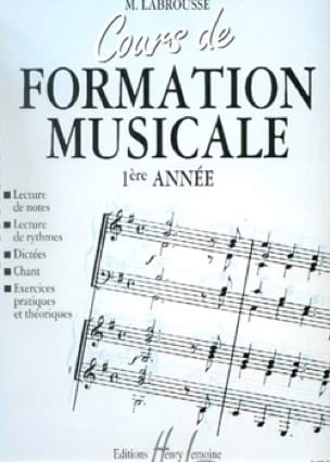 Marguerite Labrousse - Musical Training Course - Volume 1 - Partition - di-arezzo.co.uk