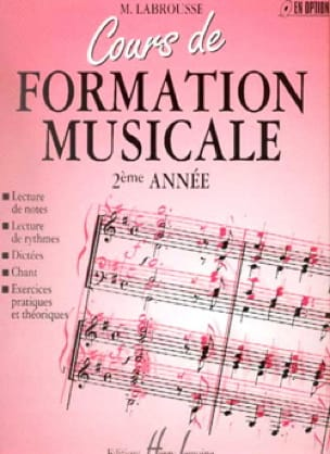 Marguerite Labrousse - Musical Training Course - Volume 2 - Partition - di-arezzo.co.uk