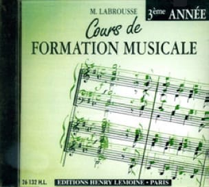 Marguerite Labrousse - CD - Musical Training Course Volume 3 - Partition - di-arezzo.co.uk