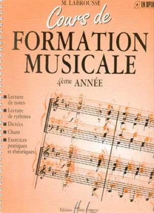 Marguerite Labrousse - Musical Training Course - Volume 4 - Partition - di-arezzo.co.uk