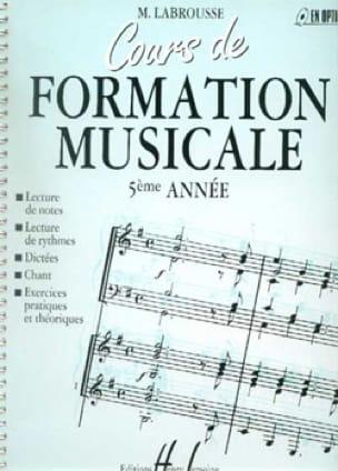 Cours de Formation Musicale - Volume 5 - laflutedepan.com