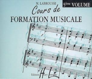 CD - Cours de Formation Musicale Volume 5 - laflutedepan.com