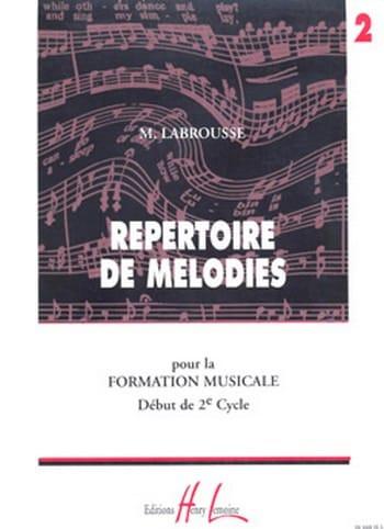 Répertoire de Mélodies Volume 2 - laflutedepan.com
