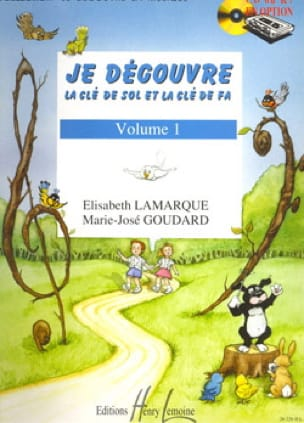 Elisabeth LAMARQUE et Marie-José GOUDARD - I discover the key to Sol and Fa - Volume 1 - Partition - di-arezzo.com