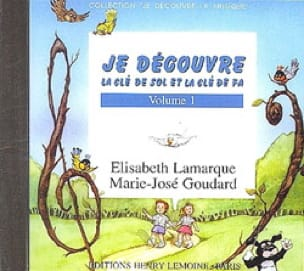 Elisabeth LAMARQUE et Marie-José GOUDARD - I discover key Sol and Fa - Volume 1 CD - Partition - di-arezzo.co.uk