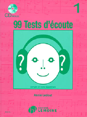 Annie Ledout - 99 Listening Tests Volume 1 - Partition - di-arezzo.com