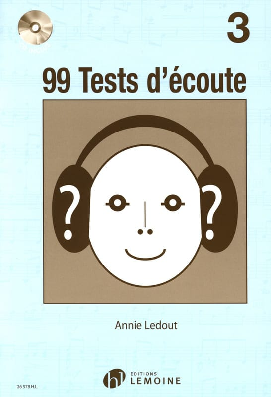Annie Ledout - 99 Listening Tests Volume 3 - Partition - di-arezzo.com