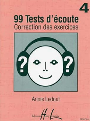 Annie Ledout - 99 Listening tests - Answers - Volume 4 - Partition - di-arezzo.com